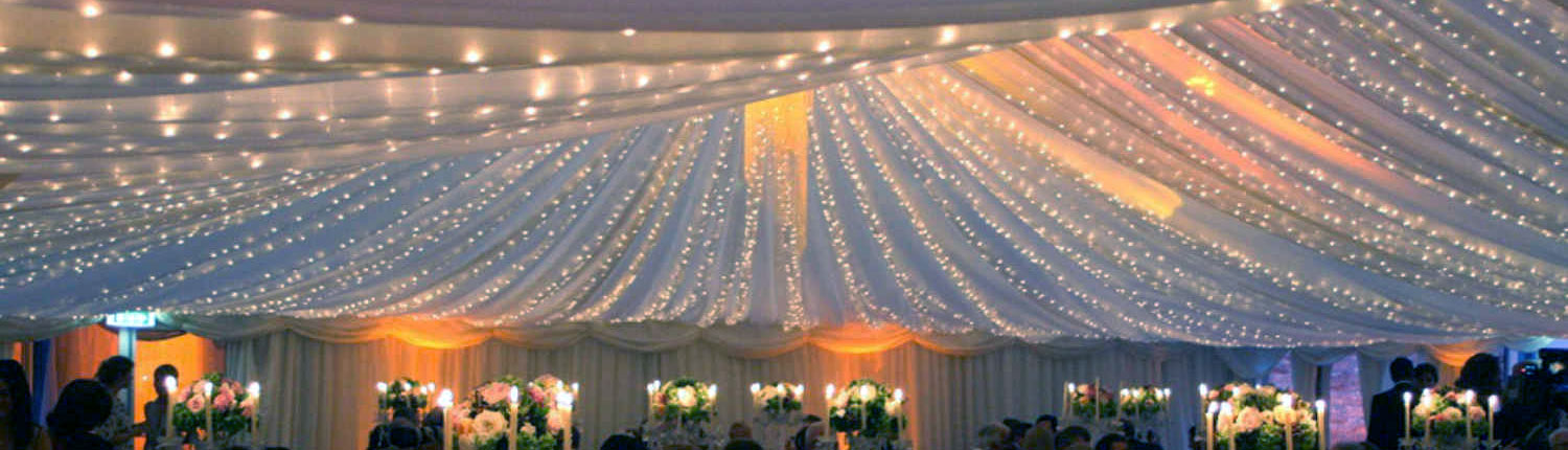 wedding hire lighting