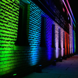 Colour Changing Uplights