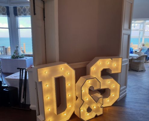 Carbis Bay Letter Lights