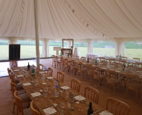 Wedding and event furniture