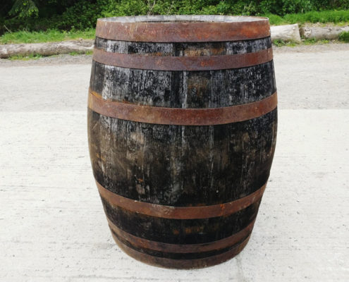 Old whiskey barrell hire