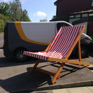 Giant Deck Chairs for Hire
