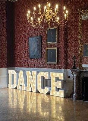 DANCE in 4ft Letters