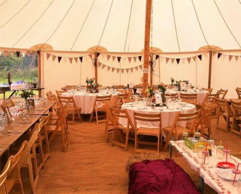 Traditional Pole Marquee Packages