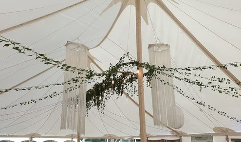 12 x 18m Traditional Marquee Decoration