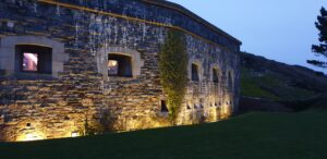 Lighting hire for Polhawn Fort